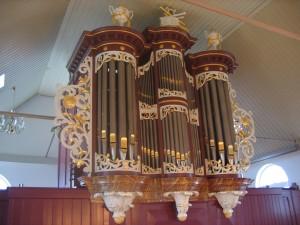 Orgel Museumkerk Wierum