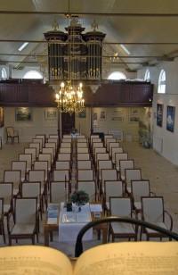 Interieur Museumkerk Wierum